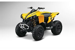 Save $1650 on a NEW 2015 Can Am Renegade 500 $7599