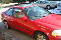 1998 Honda Coupe (2 door)trades welcome