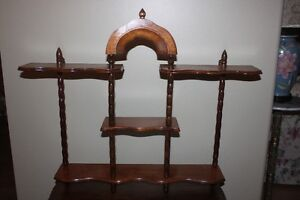 Antique What Not Shelf (display items or in bathroom for items)