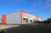 Brand new Industrial Bays, 200 amps, large doors and sump
