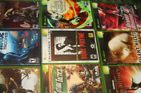 X-Box Games for sale