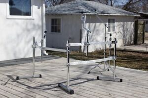 Pearl Drum Rack, Cymbal Stands and Hardware