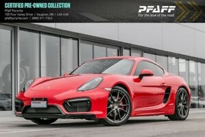 2015 Porsche Cayman GTS - *MANUAL*, NAVI, LOW KMS!