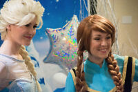 Have Anna and Elsa attend your childs Birthday Party in HRM!