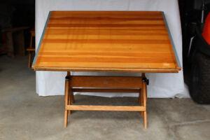 Vintage Anco Bilt Drafting Table