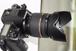 NEW PENTAX K5 body with NEW TAMRON 17-50mm f2.8 lens