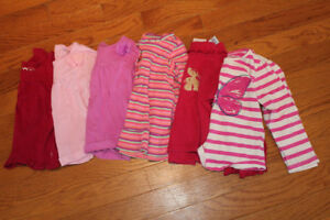 18-24 month girls clothing lots Pants Onsies Shirts