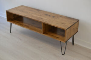 coffee tables, desks, side tables, tv stands and more.