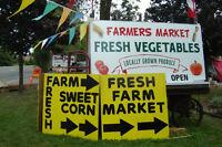 YES IT'S FINALLY OPEN MISSISSAUGA'S FARM FRESH MARKET THURSDAY