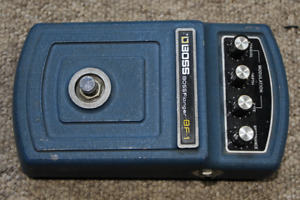 BOSS BF1 vintage analogue flanger pedal (1978)