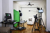 In-studio video interview for your website as low as $75.00 +Tax
