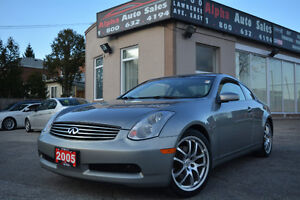 2005 Infiniti G35 Sport Coupe *No Accidents* Certified|Warranty!