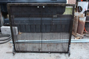 METAL FIRE PLACE SCREEN $25