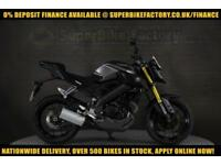 2016 16 YAMAHA MT-125 ABS 125CC 0% DEPOSIT FINANCE AVAILABLE