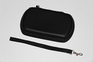 SONY PSP GO-ÉTUI CUIR/LEATHER CASE-NOIR/BLACK (NEUF/NEW)
