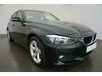2014 BLACK BMW 320D 2.0 SE DIESEL AUTO 4DR SALOON CAR FINANCE FR £193 PCM
