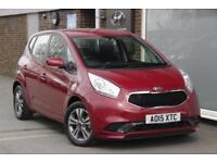 2015 Kia Venga 1.4 2 Petrol red Manual