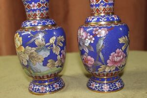 Chinese Cloisonne Vases Pair Kingston Kingston Area image 7