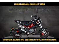 2017 67 BENELLI TORNADO 125 NAKED 125CC 0% DEPOSIT FINANCE AVAILABLE