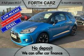 image for CITROEN DS3 BLUEHDI DSPORT SS 2015 Diesel Manual in Blue
