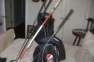 golf bag-clubs-alignment rods excellent shape see pictures
