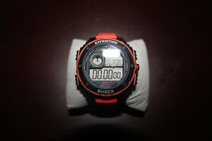 Timex Expedition Vibe Shock Resistant Orange Band Outdoor Diver