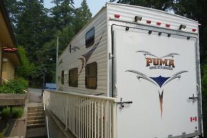 2010 Toy Hauler Forest River Puma Unleashed - $16800