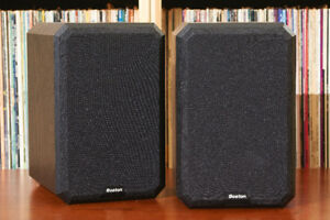 Boston Acoustics Bookshelf Speakers - NEW Surrounds