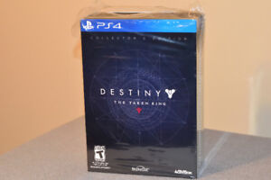 Destiny the taken king collector edition
