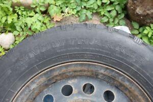 4 pneux hiver 15'' avec rimes