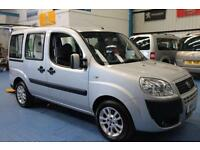 Fiat Doblo Wheelchair car disabled accessible vehicle mobility van 2011 ramp