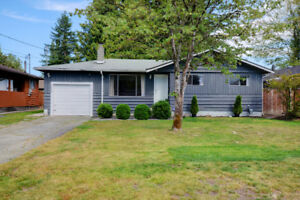 NEW PRICE! PERFECT STARTER HOME! 3 BED RANCHER IN MAPLE RIDGE
