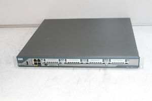 CISCO 2801 Integrated Services Router With Rackmount