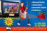 Giant Inflatable Movie Screens for Rent - Great prices!!!
