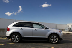 2012 Ford Edge Limited SUV in Silver