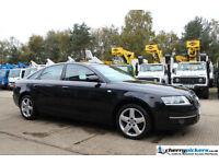 2008 / 58 Audi A6 Saloon 2.0 TDI SE 4 Door 6 Speed Turbo Diesel Black