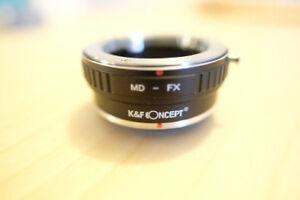 Minolta mount for Fujifilm