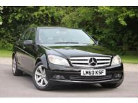 2010 MERCEDES C-CLASS C220 CDI BLUEEFFICIENCY EXECUTIVE SE SALOON DIESEL