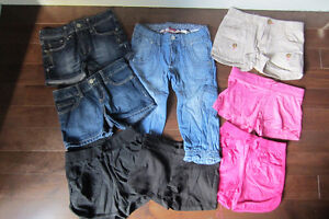 8 Shorts pour fille gr 7 & 8 / 8 Shorts for girls size 7 & 8