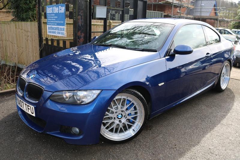 2007 (07) BMW 335D 3.0 M Sport Coupe Blue Big Wheels M Sport Diesel Automatic Sa