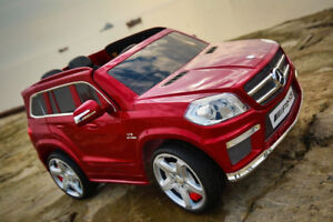 KIDS ELECTRIC MERCEDES GL63! RUBBER WHEELS! 12V WITH REMOTE!!