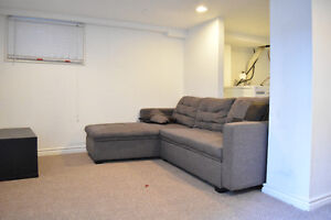 Sectional couch with hidden storage