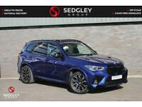 2020 BMW X5 M 4.4i V8 Competition Auto xDrive (s/s) 5dr SUV Petrol Automatic