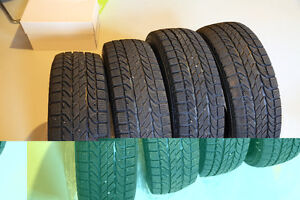 Used winter tire set