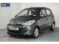 2013 Hyundai i10 1.2 Active With Air Con, Alloy Wheels And Central Locking Petro
