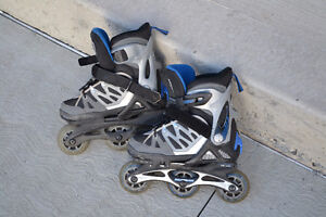 Child's variable size roller blades by Rollerblade