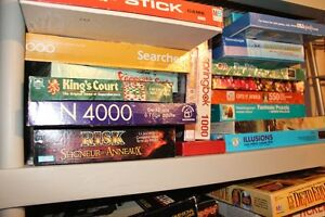 BOARD GAMES! BOARD GAMES! 5 - 10 DOLLARS LARGE ASSORTMENT
