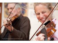 String circle fiddle workshop