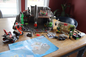 Playmobil Top Agent Sets - Excellent Condition with extras