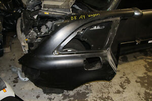 Audi B8 A4 Wagen Trunk Lid and Quarter panel